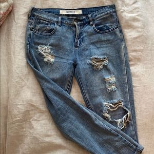 Brandy Melville boyfriend jeans size 26